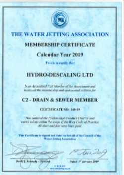 DOWNLOADS - Hydro Descaling - Sewer Inspection, Cleaning and